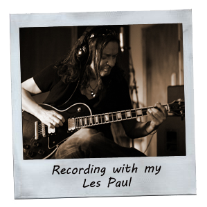 Recording with my Les Paul