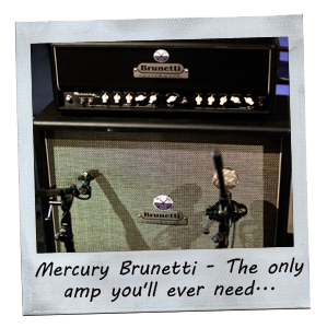 Mercury Brunetti - The only amp you'll ever need...